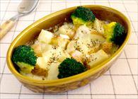ポテトとブロッコリーのチーズグラタン