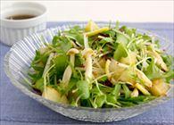 じゃがいもと水菜のサラダ