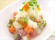 海鮮マリネの白雪サラダ
