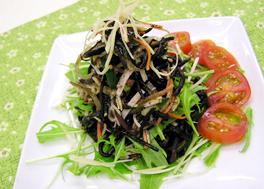 ひじきと海藻のファイバーサラダ