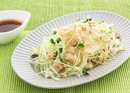 鮭とセロリのおつまみサラダ