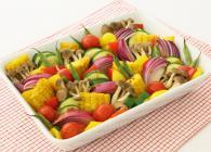 カラフル野菜のぎゅうぎゅう詰めグリル